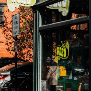 word book store in brooklyn near two blue slip rental apartments